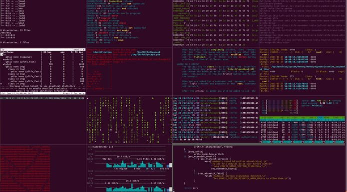 Como instalar o divertido terminal hacker Hollywood no Linux via Snap