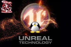 O Unreal Engine já usa o Vulkan no Linux por padrão