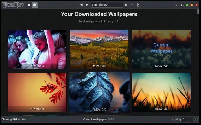Como instalar o gerenciador de wallpaper Wonderwall no Linux via Snap