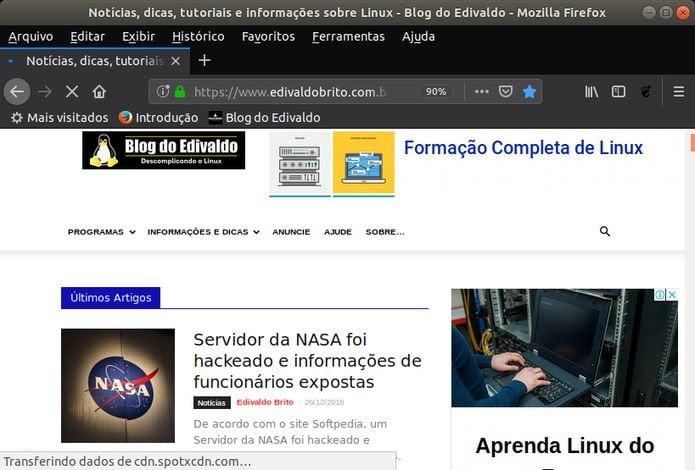Como ativar o modo escuro do Firefox no Linux