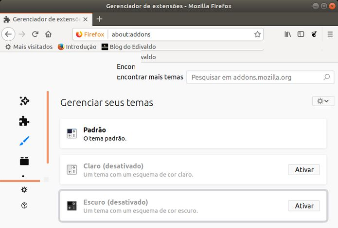 Firefox no Linux
