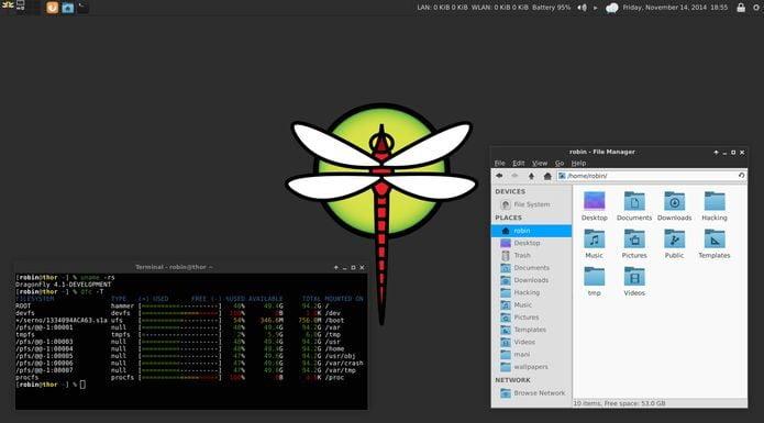 DragonFly BSD 5.4 lançado - Confira as novidades e baixe