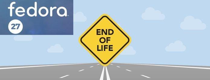 Fedora 27 atingiu oficialmente o status de fim de vida