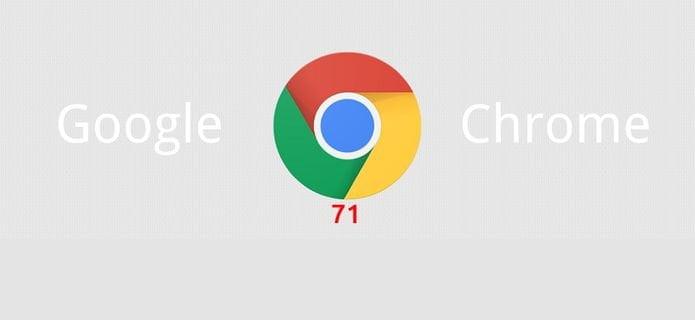 Google Chrome 71 lançado com o bloqueio de publicidade enganosa e mais