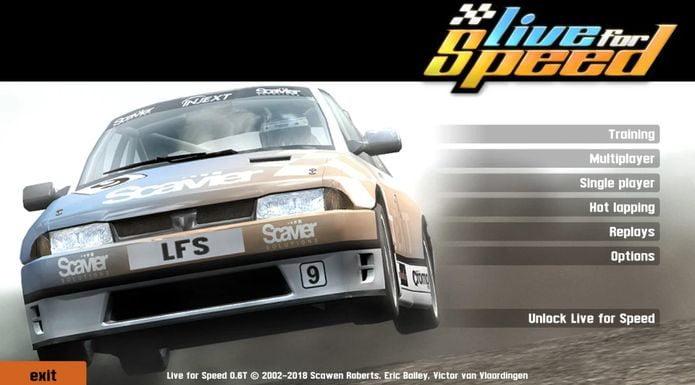 Como instalar o jogo Live For Speed no Linux via Snap