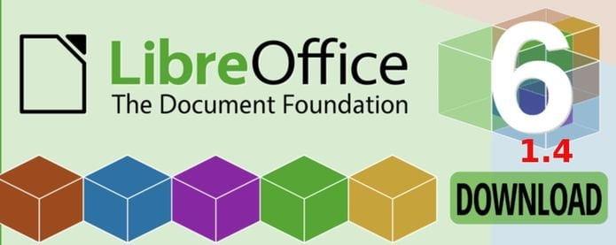 LibreOffice 6.1.4 lançado com mais de 125 correções de bugs