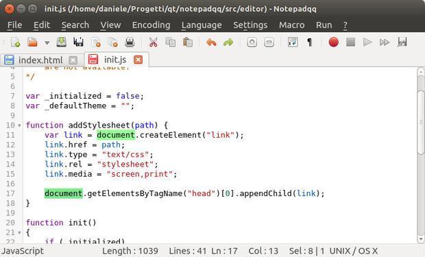 Como instalar o editor de código Notepadqq no Linux via Flatpak