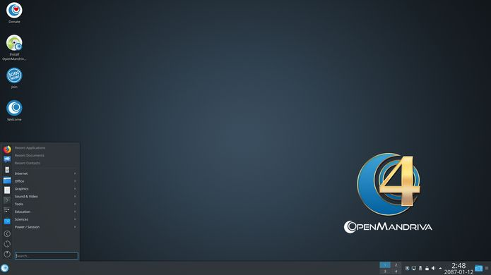 OpenMandriva Lx 4.0 Alpha 1 já está disponível para download