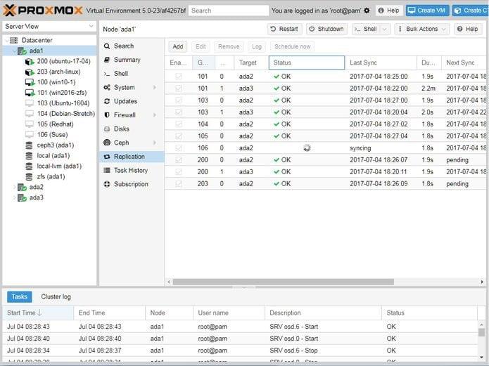 Proxmox VE 5.3 lançado - Confira as novidades e baixe
