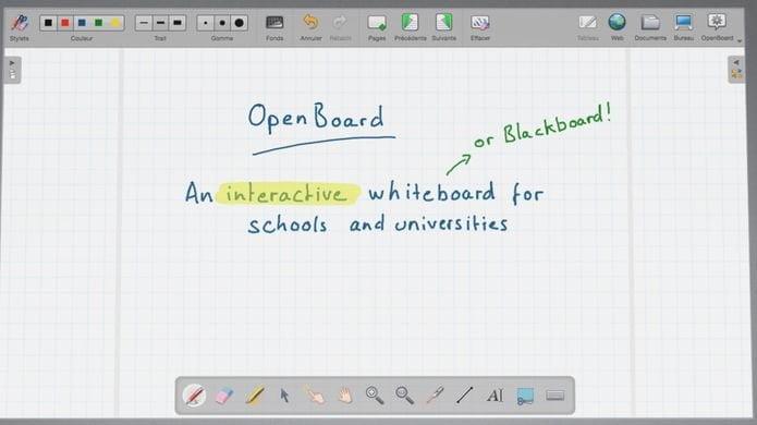 Como instalar o quadro branco OpenBoard no Linux via Flatpak