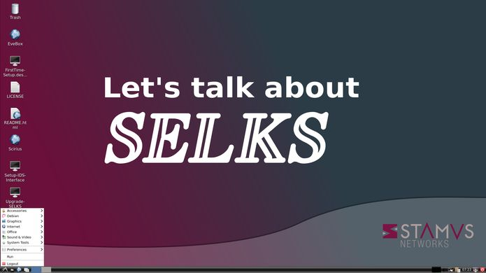 SELKS 5 RC1 já está disponível para download