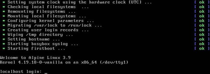 Alpine Linux 3.9 lançado com suporte a ARMv7 e muito mais