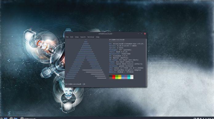 ArcoLinux 19.01.4 já está disponível para download