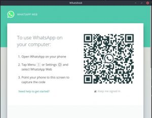 Como instalar o cliente WhatsApp WhatsDesk no Linux via Snap