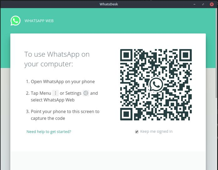 Como instalar o cliente WhatsApp WhatsDesk no Linux via Snap