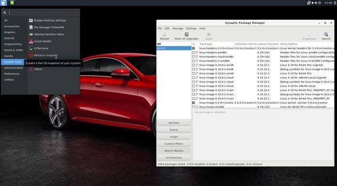 DebEX Build 190128 lançado com Kernel 5.0 e Budgie Desktop 10.4