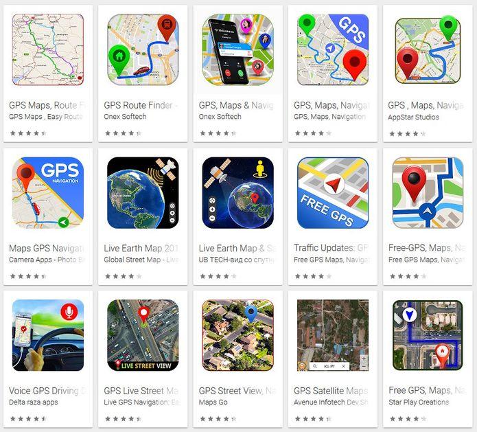 Descobertos 15 Aplicativos falsos de mapas para Android