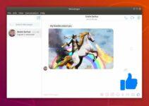 Como instalar o Facebook Messenger Caprine no Linux via Snap
