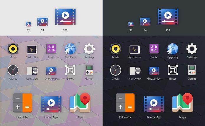 GNOME 3.32 terá um novo e radical estilo de ícone