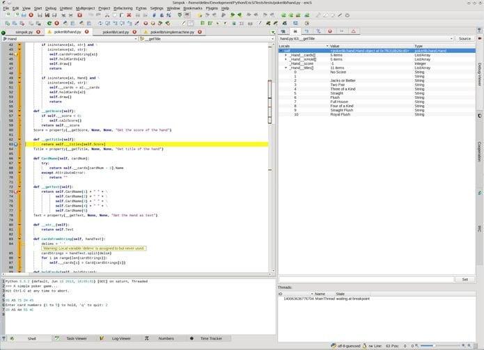 Como instalar a IDE Python Eric no Linux via Snap