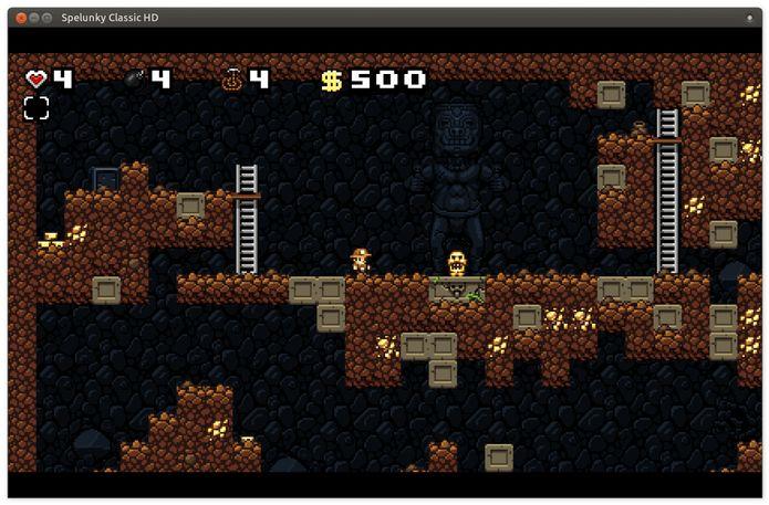 Como instalar o jogo Spelunky Classic HD no Linux via Snap