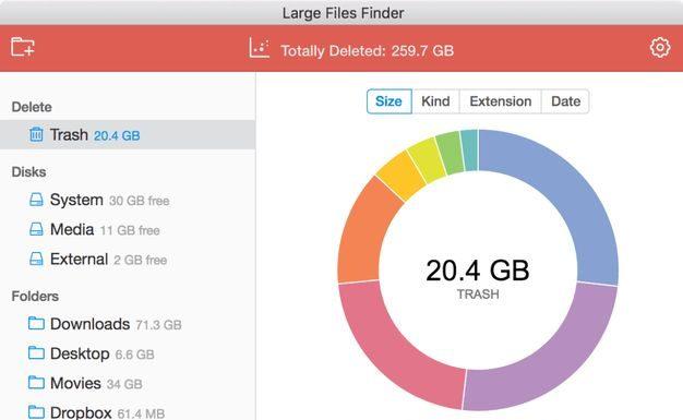 Como instalar o utilitário Large Files Finder no Linux via Snap