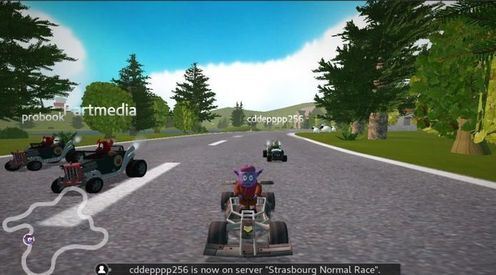 O multiplayer on-line do SuperTuxKart está pronto para teste!