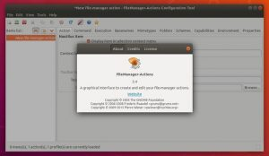 Como instalar o recurso Nautilus Actions no Ubuntu 18.04