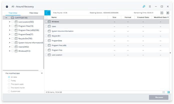 Recoverit - uma excelente ferramenta para recuperar arquivos excluídos