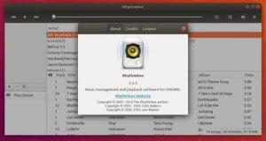 Rhythmbox 3.4.3 lançado com inúmeras correções de bugs