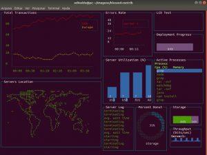 Tenha um terminal hacker no Linux com Blessed-contrib