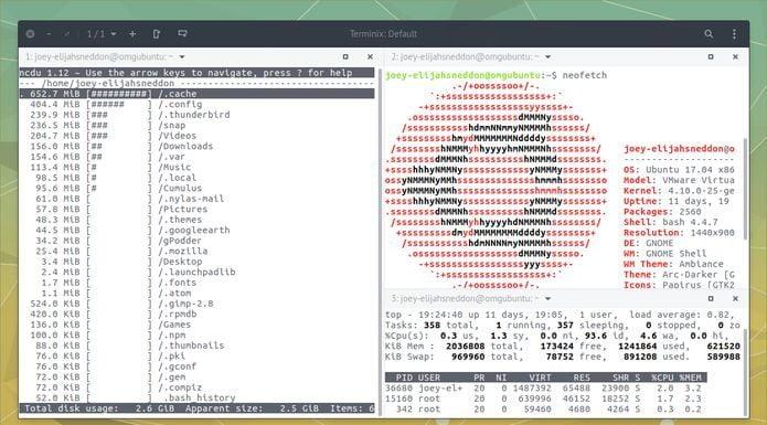 Tilix 1.8.7 lançado com pequenas melhorias e correções