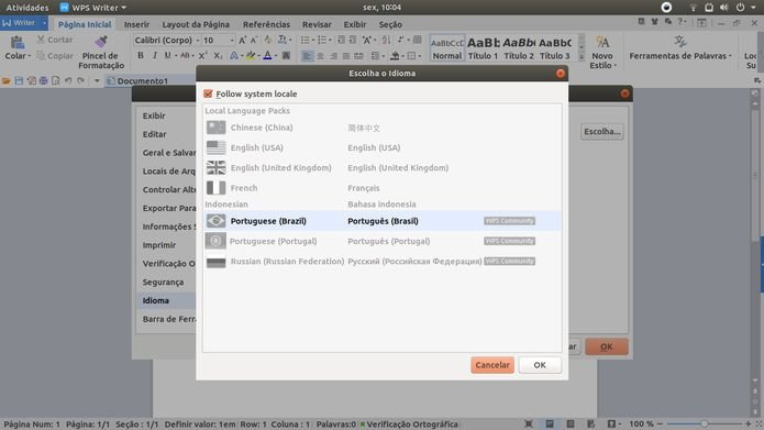 Como instalar a suite WPS Office no Linux via Snap