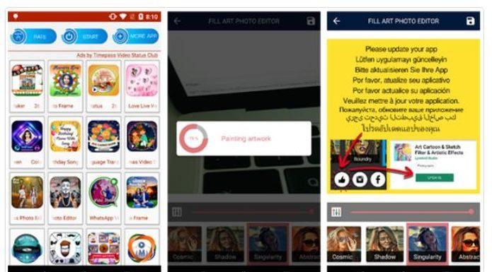 Apps infectados fazem celulares Android a exibir anúncios pornográficos