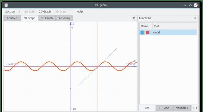 Como instalar a calculadora KAlgebra no Linux via Snap