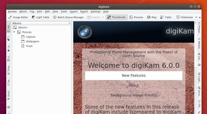 DigiKam 6 lançado com suporte para gerenciamento de arquivos de vídeo