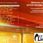 EXTON Linux MultiBootCD 6-OS build 19021 lançado