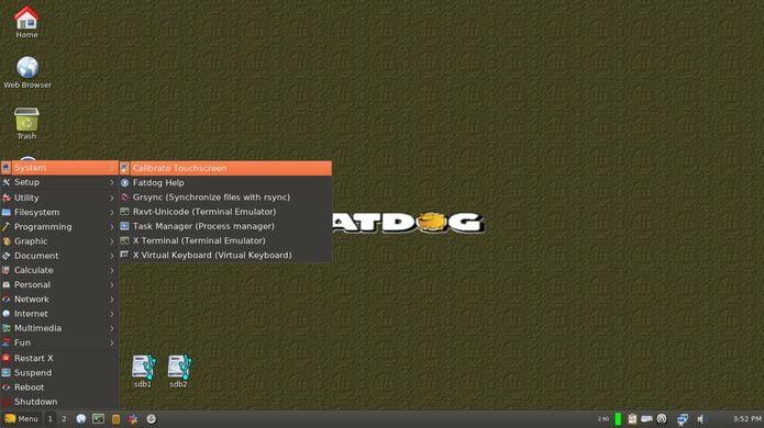 Fatdog64 Linux 800 RC já está disponível para download