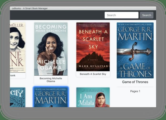 Como instalar o gerenciador de ebooks csBooks no Linux via Snap