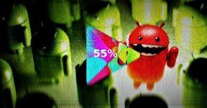 Google rejeitou 55% mais aplicativos Android em 2018