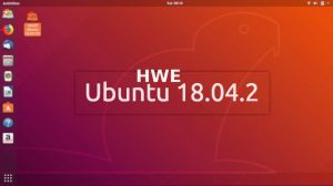 Como instalar o Hardware Enablement Stack no Ubuntu 18.04.2