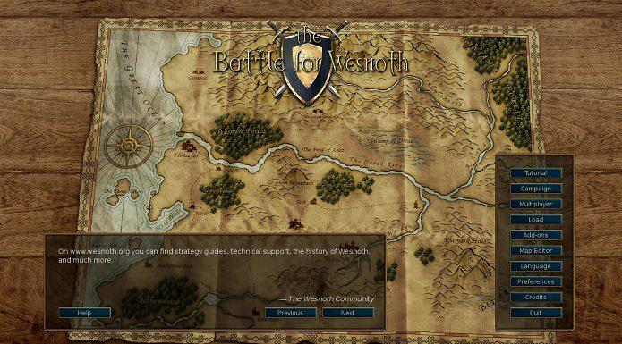 Jogo Battle for Wesnoth 1.14.6 lançado com correções e melhorias