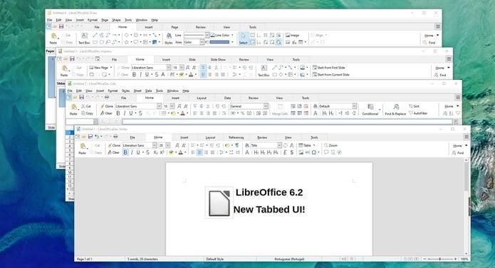 LibreOffice 6.2 lançado oficialmente com muitas melhorias