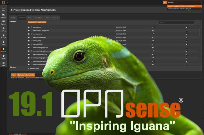 OPNsense 19.1 lançado - Confira as novidades e baixe