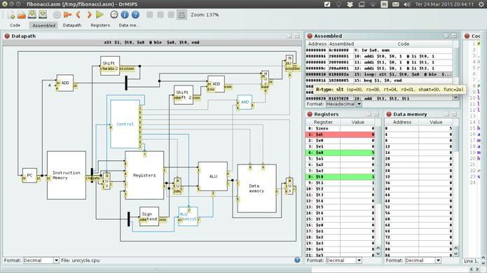 Como instalar o Simulador Educacional MIPS no Linux via Snap