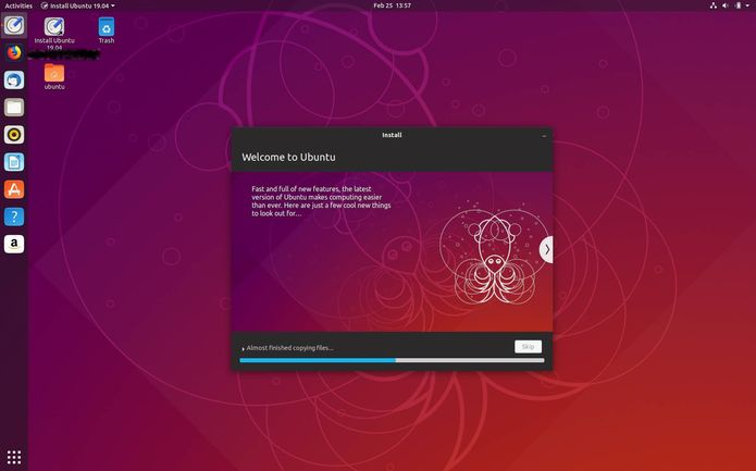 Ubuntu 19.04 Disco Dingo entrou na fase de congelamento de recursos