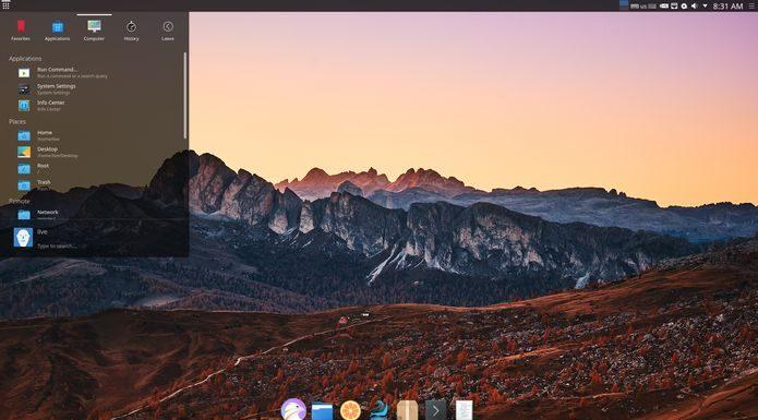Usuários do Chakra GNU/Linux já podem instalar o KDE Plasma 5.15