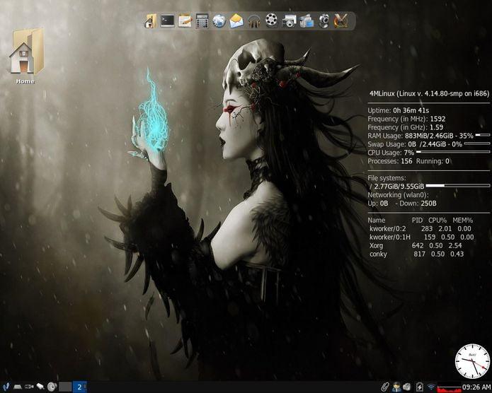 4MLinux 28 lançado - Confira as novidades e baixe