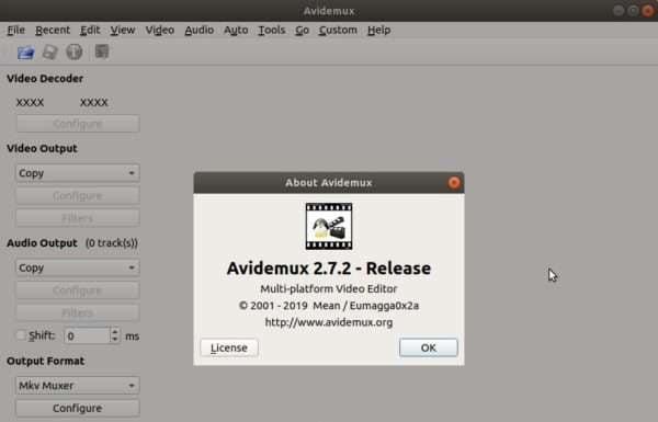 Avidemux 2.7.2 lançado com novos encoders e correções de bugs