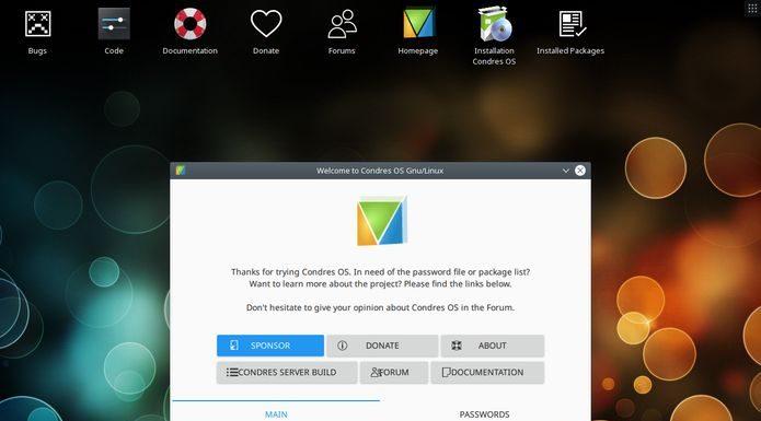Condres OS 19.03 lançado - Confira as novidades e baixe